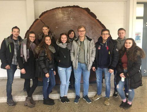 Exkursion des Geographie Leistungskurses der Q2