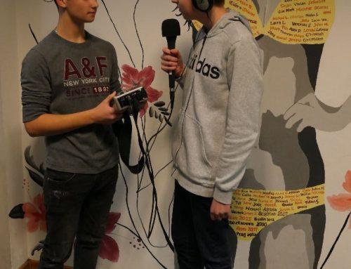 41 SchülerInnen machen Radio beim eigenen Sender THGfm