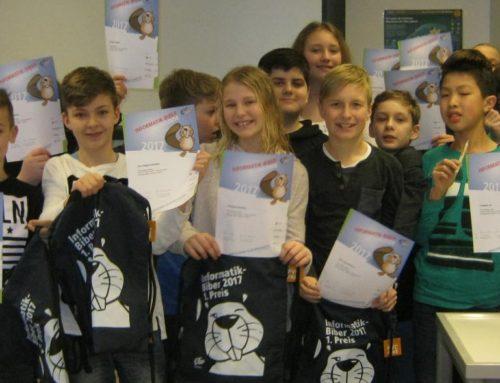 Zehnte Teilnahme am Informatik Biber Wettbewerb