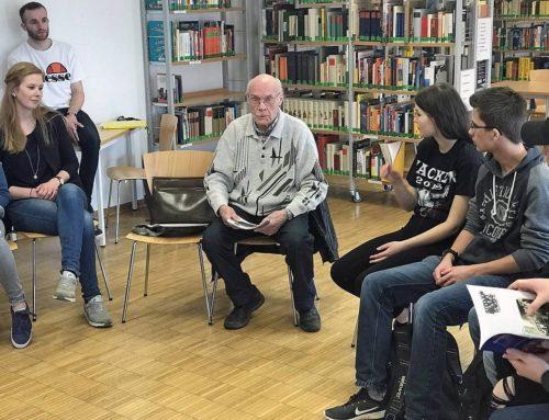 Pressebericht: Ein Zeitzeuge erzählt über die NS-Zeit