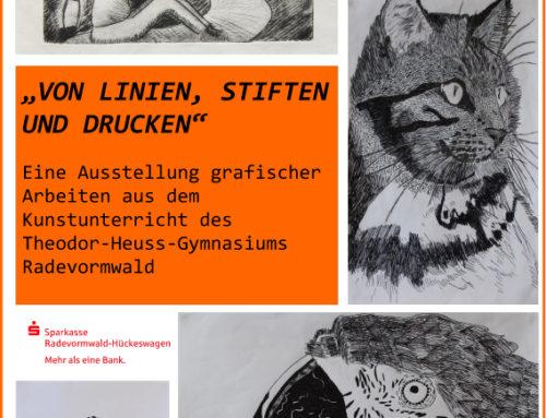 Kunstausstellung in der Sparkasse