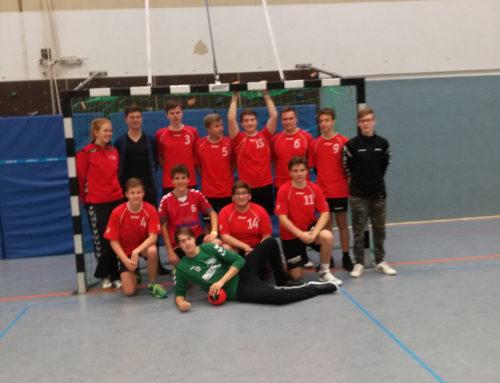 THG erfolgreich bei erster Runde der Schulmeisterschaften im Handball