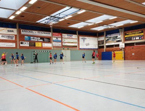 Knappe Niederlage bedeutete das Aus für unsere Handballerinnen