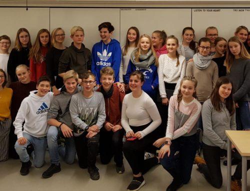 Schwedenaustausch der Stufe 8 im Schuljahr 2018/19