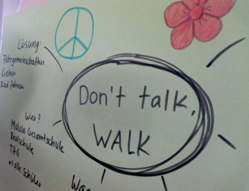 Pressebericht: Gegen Elterntaxis – Schüler wollen Hermannstraße sperren