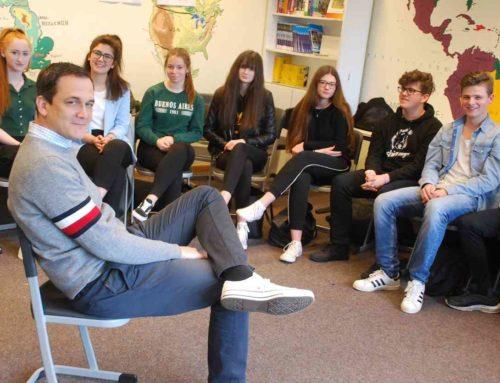 Pressebericht: Europa-Tag – Schüler fragen nach dem umstrittenen Artikel 13