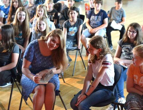Pressebericht: Autorin Amelie Murmann zu Gast am THG