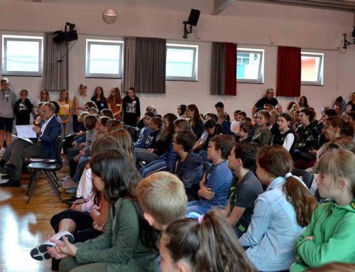 Pressebericht: THG-Fünftklässler erleben zum ersten Mal ihre neue Schule