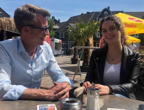 Pressebericht: Schülerin vertritt Sven Wolf im Landtag