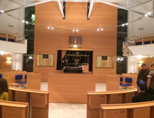 Besuch in der Wuppertaler Synagoge