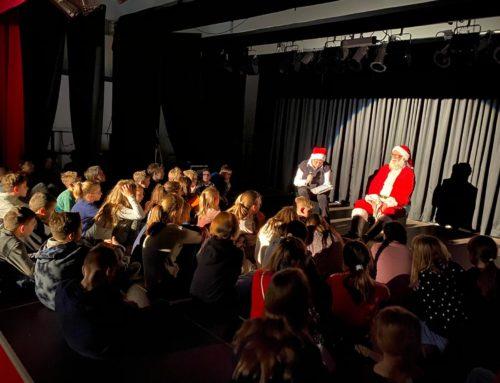 Pressebericht: Schülervertretung organisiert Weihnachtsfeier für Fünftklässler