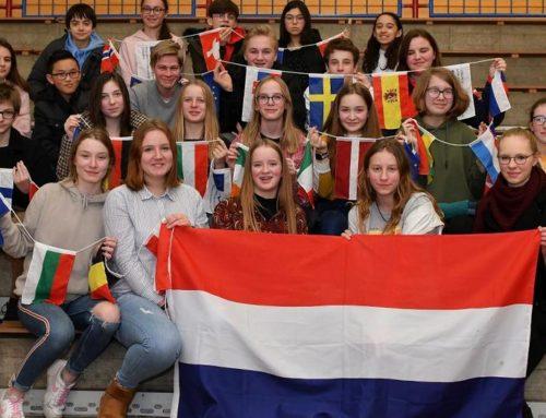 Pressebericht: Internationales Treffen im Gymnasium