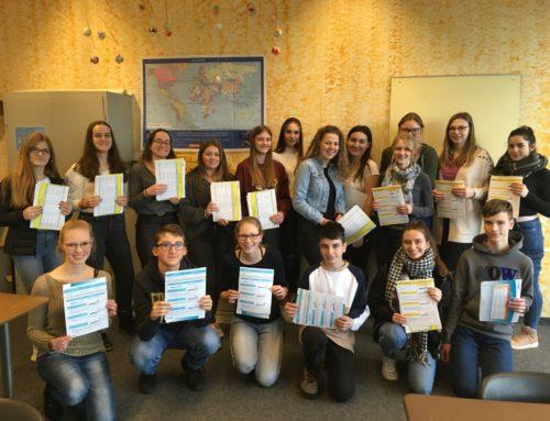 Neues Englisch-Sprachzertifikat am THG: TOEFL Junior und TOEFL ITP