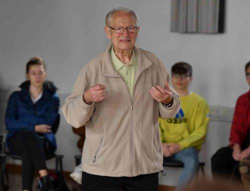 Zeitzeuge erzählt Schülern vom Weltkrieg