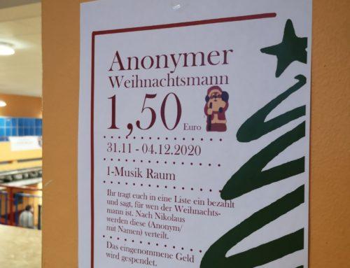 Anonymer Weihnachtsmann