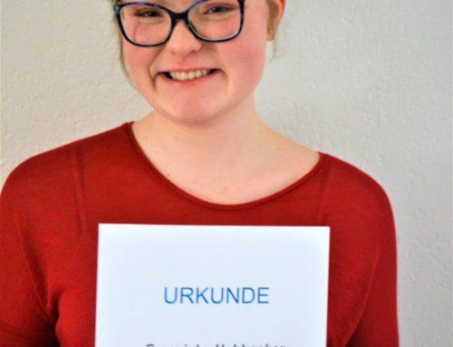 THG-Schülerin erhält Karl-von-Frisch-Preis